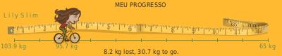 perda de peso LilySlim tickers